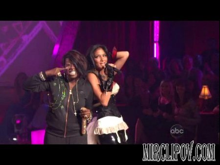 The Pussycat Dolls Feat. Missy Elliott - Whatcha Think About That (Live, Dancing With The Stars)