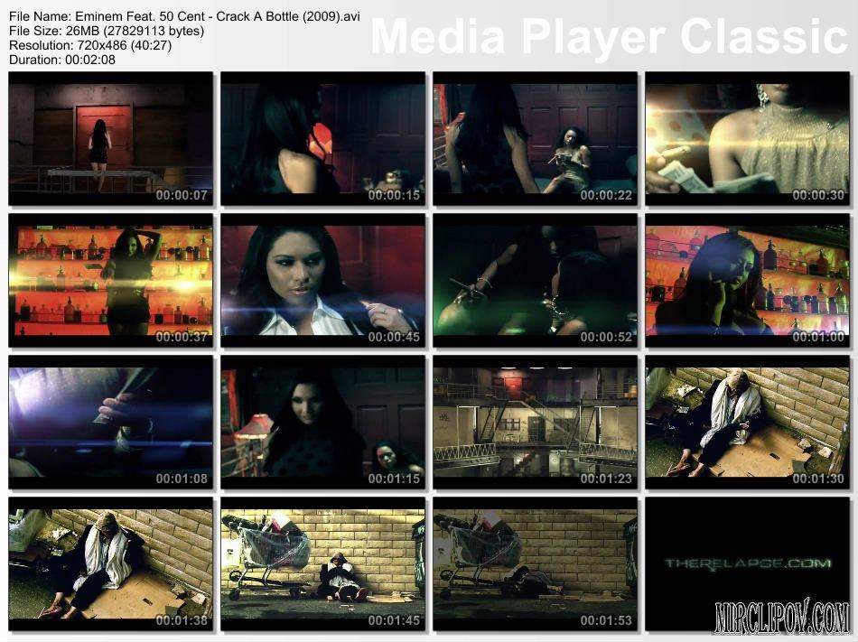 Eminem & Dr & 50 Cent - Crack A Bottle (2009) Смотреть клипы СКАЧАТЬ