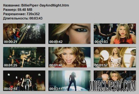 Billie Piper - Day & Night
