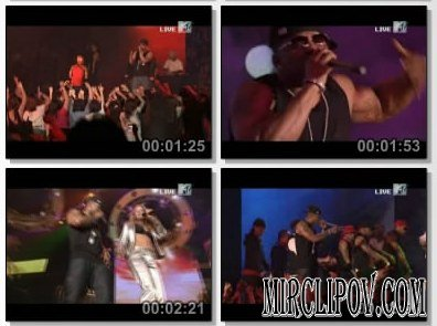 Nelly Feat. Fergie - Party People (Live, VMA Japan)