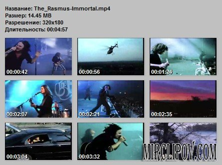 Rasmus – Immortal