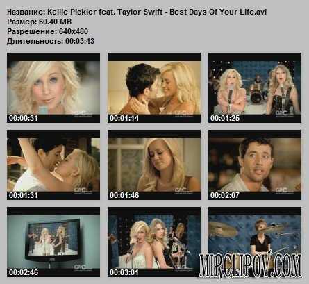 Kellie Pickler Feat. Taylor Swift - Best Days Of Your Life