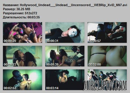 Hollywood Undead – Undead (Uncensored)