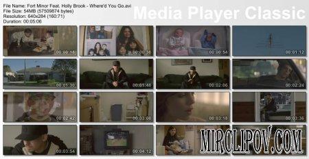 Fort Minor Feat. Holly Brook & Jonah Matranga - Where'd You Go