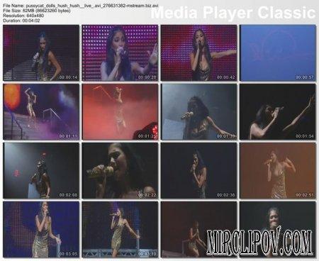 Pussycat Dolls - Hush Hush (live)