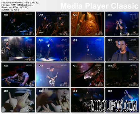 Linkin Park - Faint (Live)