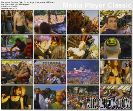 Paul Van Dyk - For An Angel (Live, Love Parade, 1996)
