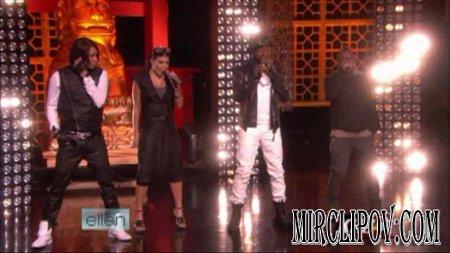 Black Eyed Peas - Let's Get Started (Live, Ellen Show)