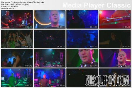 DJ Shog - Running Water (Live)