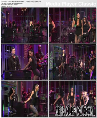 Ciara Feat. Justin Timberlake - Love Sex Magic (Live, SNL)