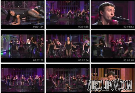 Ciara Feat. Justin Timberlake - Love Sex Magic (Live, Saturday Night, 09.05.09)