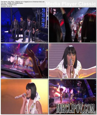 Katy Perry - Waking Up In Vegas (Live, American Idol, 05.13.09)