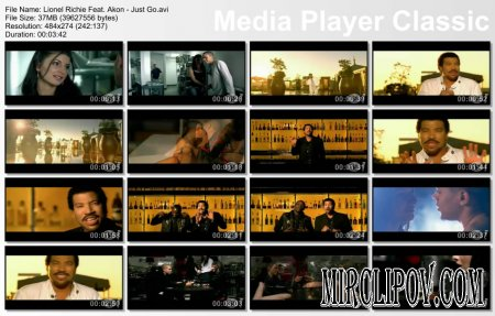 Lionel Richie Feat. Akon - Just Go