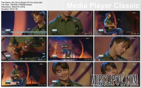 Alexander Rybak - All I Do Is Dream Of You (Live)