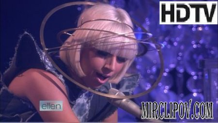 Lady GaGa - Poker Face (Live, Ellen Show, 05.12.09)