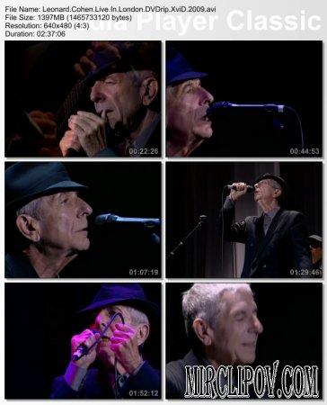 Leonard Cohen - Live Perfomance (London, 2009)