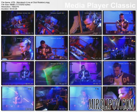 ATB - Marrakech (Live, Club Rotation)