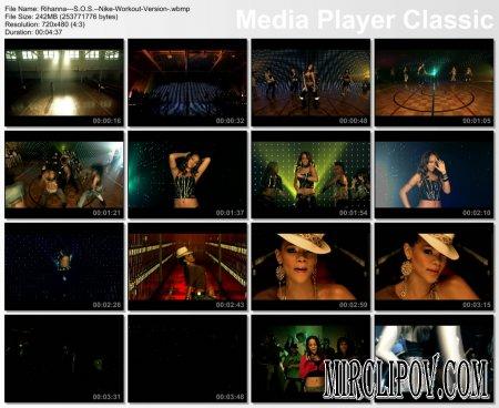 Rihanna - S.O.S. (Nike Workout Version)