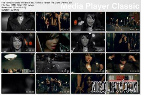 Michelle Williams Feat. Flo Rida - Break The Dawn (Remix)