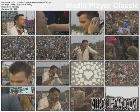 ATB - Live Perfomance (Loveparade Germany, 2007)