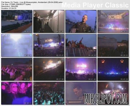 DJ Tiesto - (Live, Museumplein, Amsterdam)