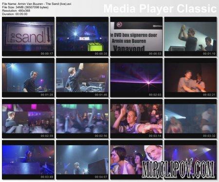 Armin Van Buuren - The Sand (Live)