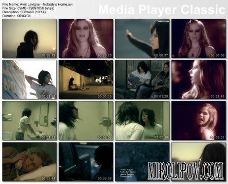 Avril Lavigne - Nobody`s Home