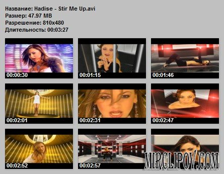 Hadise - Stir Me Up