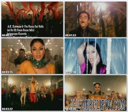 Pussycat Dolls feat. A.R.Rahman - Jai Ho (Dj Fisun House Remix)