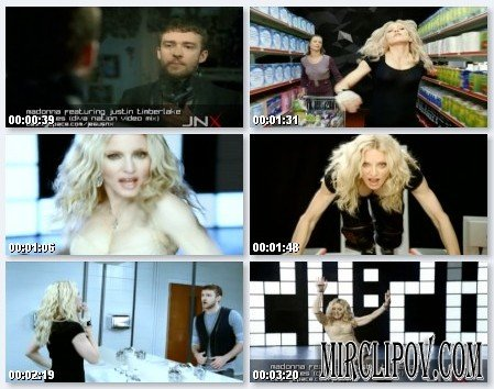 Madonna Feat. Justin Timberlake & Timbaland - 4 Minutes (Diva Nation Jnx Video Edit)