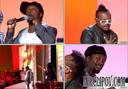 Black Eyed Peas - Boom Boom Pow (Live, Grand Journal 26.05.09)