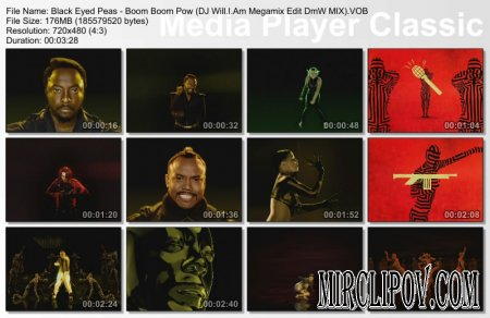 Black Eyed Peas - Boom Boom Pow (DJ Will.I.Am Megamix Edit DmW MIX)