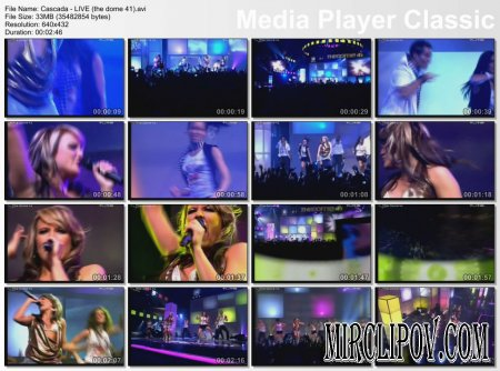 Cascada - Live Perfomance (The Dome 41)