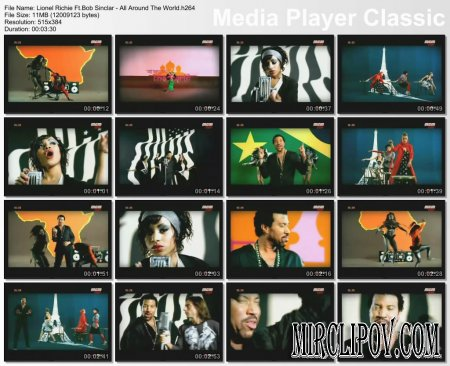 Lionel Richie Ft. Bob Sinclar - All Around The World