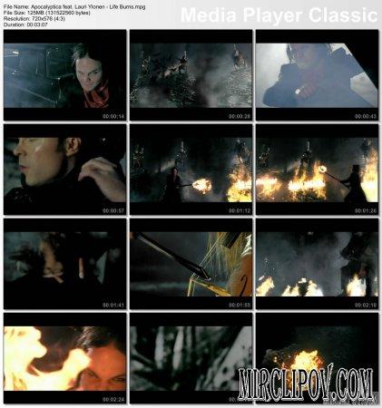 Apocalyptica Feat. Lauri Yloenen - Life Burns