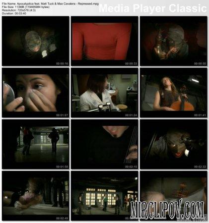 Apocalyptica Feat. Matt Tuck & Max Cavalera - Repressed