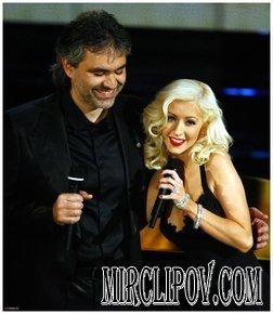 Andrea Bocelli and Christina Aguilera - Somos Novios