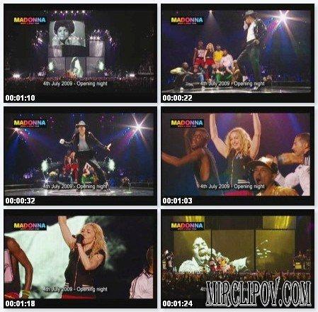Madonna - Holiday (Tribute MJ / Посвящение Майклу Джексону)