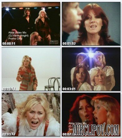 ABBA - Video MIix (DJ Kevin Knight Megamix)
