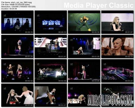 Madonna - She's Not Me [Sticky & Sweet Tour]