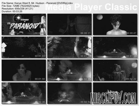 Kanye West Feat. Mr. Hudson - Paranoid