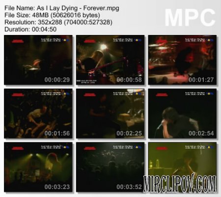 As I Lay Dying - Forever (Live)