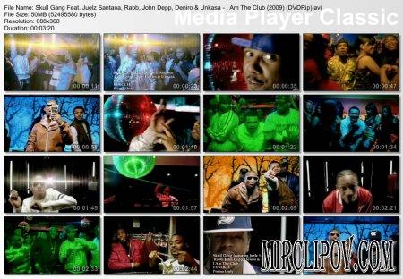 Skull Gang Feat. Juelz Santana, Rabb, John Depp, Deniro & Unkasa - I Am The Club