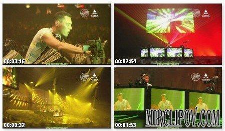 Dj Tiesto - Aufnahme In Diskothek (HDTV 720p)