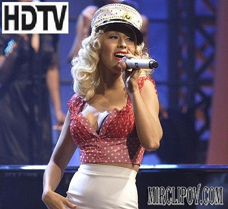 Christina Aguilera - Candyman (Live, Tonight Show With Jay Leno)