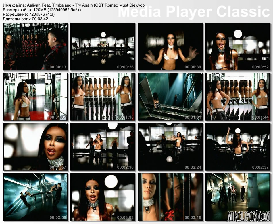 Aaliyah Feat. Timbaland - Try Again (OST Romeo Must Die)