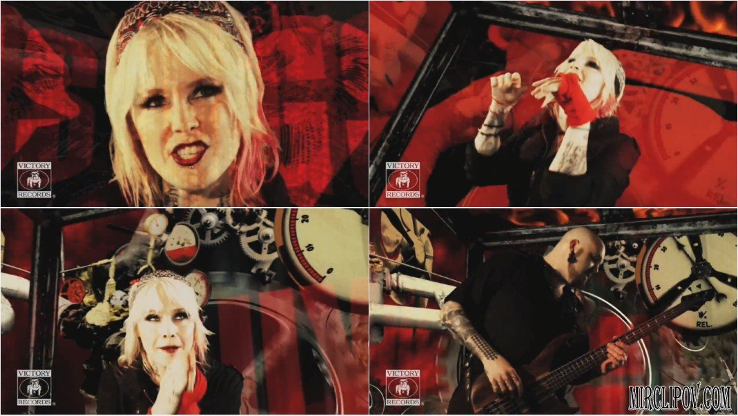 Клип Otep - Smash The Control Machine (2009). клип Chiodos - The Words &quo