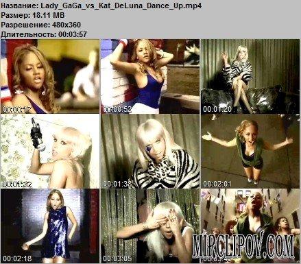 Lady GaGa vs. Kat De Luna - Dance Up