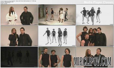 Beyonce & Justin Timberlake - Single Ladies Parody (Saturday Night Live 11.15.08)
