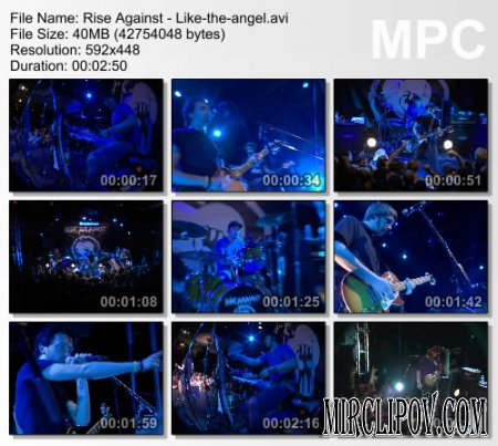 Rise Against - Like The Angel (live)